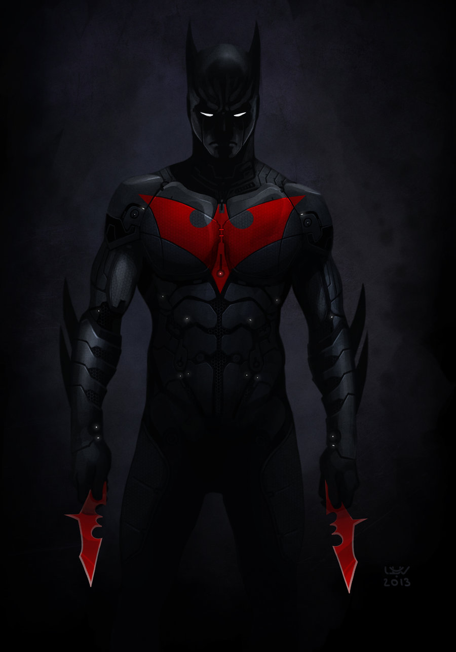 New 52 Batman Beyond Suit TBlogcom