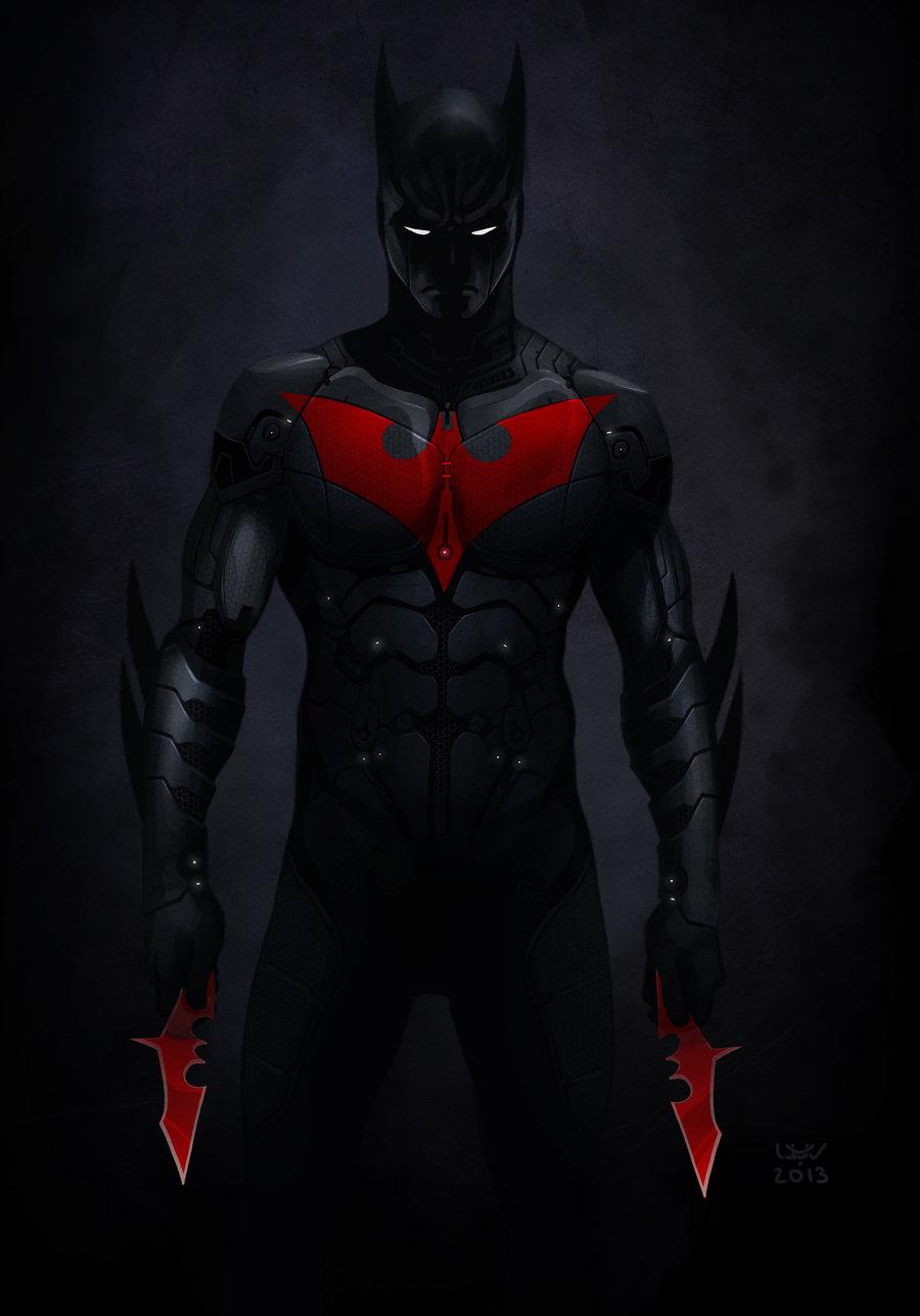 Superhero Morphsuits: The New 52 Batman BeyondNew 52 Batman Beyond