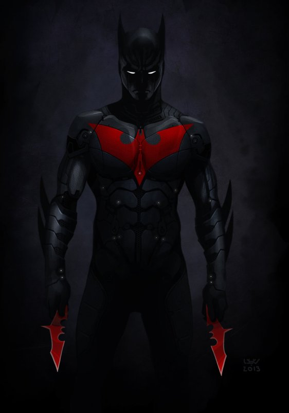 batman beyond costume | Full Body Suited Superheros